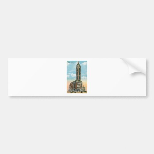 Singer Building, New York City Bumper Stickers
