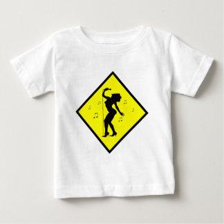 Singer Diva Crossing Sign Baby T-Shirt
