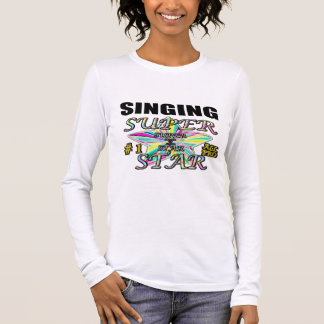 singer long sleeve T-Shirt