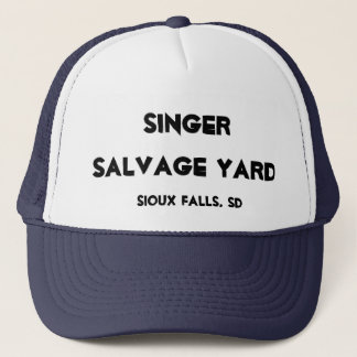 Singer Salvage Yard Trucker Hat