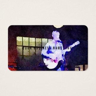 Singer Songwriter Business Card