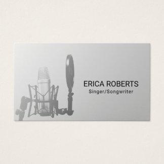 Singer Songwriter Vocalist Music Teacher Business Card
