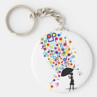 Singin' in the Rain Key Ring