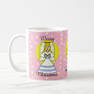 Singing Angel Christmas Mug