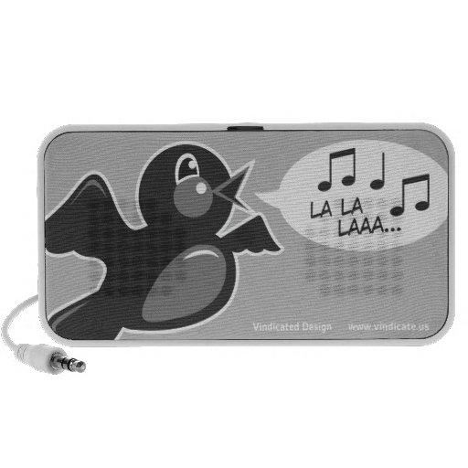 Singing Bird Logo Portable Speaker