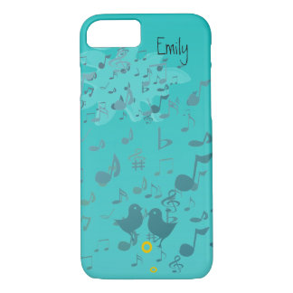 Singing Birds Musical Notes iPhone Cover