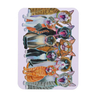 Singing Cats Magnet
