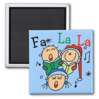 Singing Christmas Carols Tshirts and Gifts Square Magnet