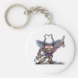 Singing Cowboy Key Ring