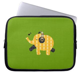 Singing Elephant Laptop Sleeve