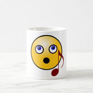 Singing Emoji Mug