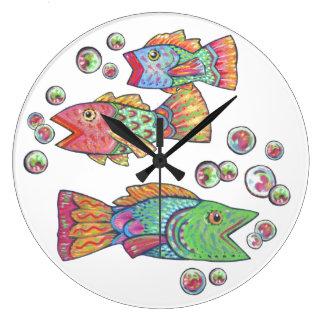 Singing Fish Clock
