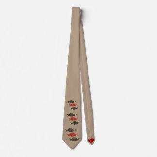 Singing Fish neck tie