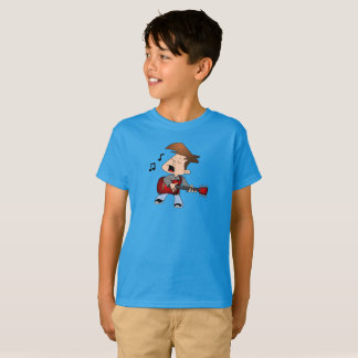 Singing Guitar Player T-Shirt