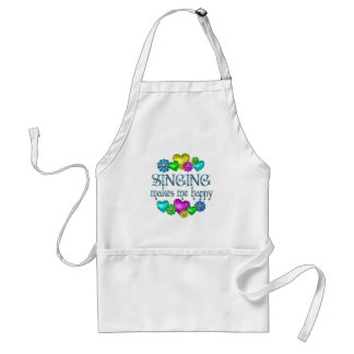 Singing Happiness Standard Apron