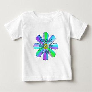 Singing Happy Baby T-Shirt