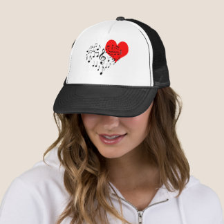 Singing Heart one-of-a-kind funny Cap