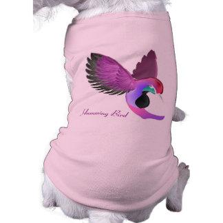 Singing Humming Bird - Doggie T-Shirt