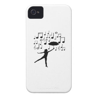 Singing in The Rain iPhone 4 Case