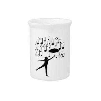 Singing in The Rain Pitcher
