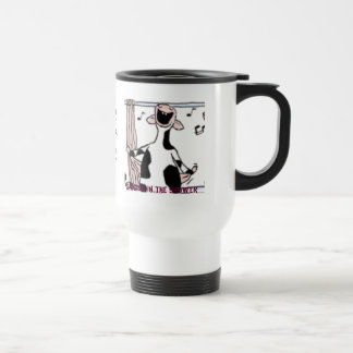 """Singing In The Shower"" by E.S.G. 1952 Travel Mug"