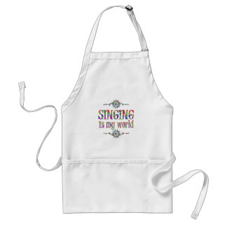 Singing is My World Standard Apron