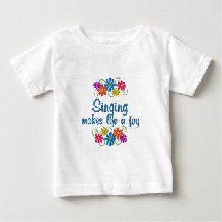 Singing Joy Baby T-Shirt