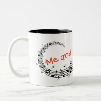 Singing mug