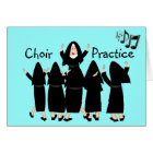 "Singing Nuns ""Choir Practice"" Note Cards-Adorable Card"