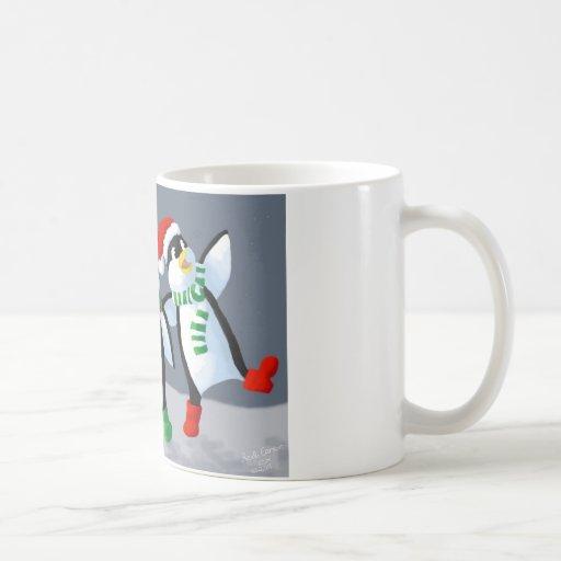 Singing Penguins Coffee Mug