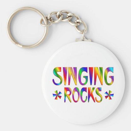 Singing Rocks Key Chains