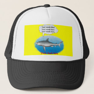 Singing Shark Trucker Hat