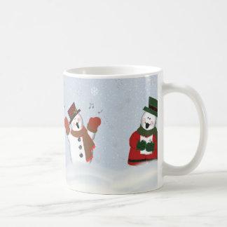 Singing Snowmen Classic 11 oz Coffee Mug