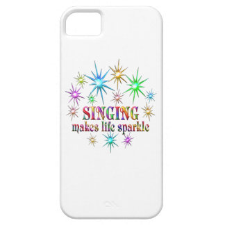 Singing Sparkles iPhone 5 Cover