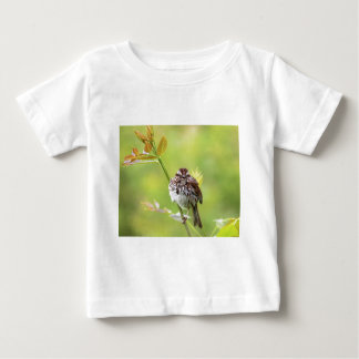 Singing Sparrow Baby T-Shirt