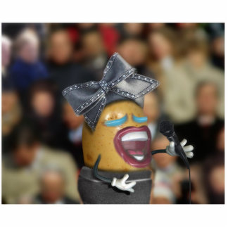 Singing Spud Acrylic Cut Out