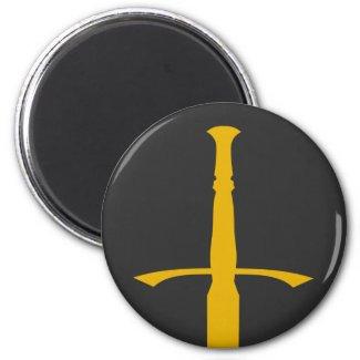 Singing Sword Saga Magnet