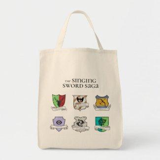 Singing Sword Saga | Noble Houses Tote Bag
