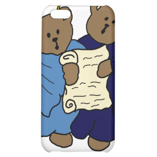 Singing Teddy Bear Angels iPhone 5C Cases