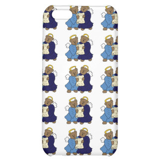 Singing Teddy Bear Angels Cover For iPhone 5C