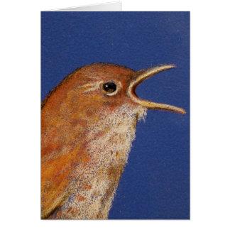 SINGING WREN CARD