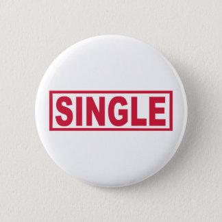Single 6 Cm Round Badge