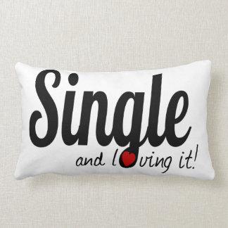 SINGLE and Loving it! Lumbar Pillow