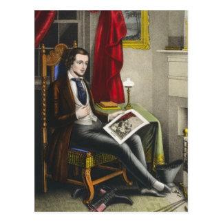 Single Bachelor Painting Postcard