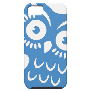 Single Blue Owl Case For The iPhone 5