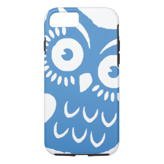 Single Blue Owl iPhone 7 Case