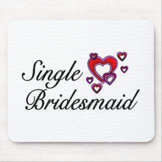 Single Bridesmaid Mouse Pad
