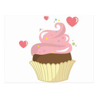 Single Cupcake Postcard