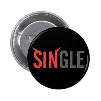 Single Dark 2 6 Cm Round Badge