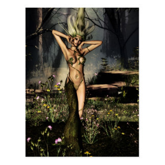Single Dryad Postcard